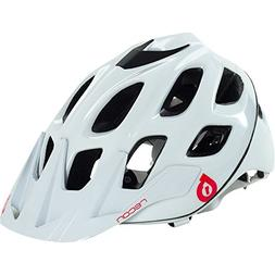 SixSixOne 661 Recon Scout Helmet White/Red l/XL , White
