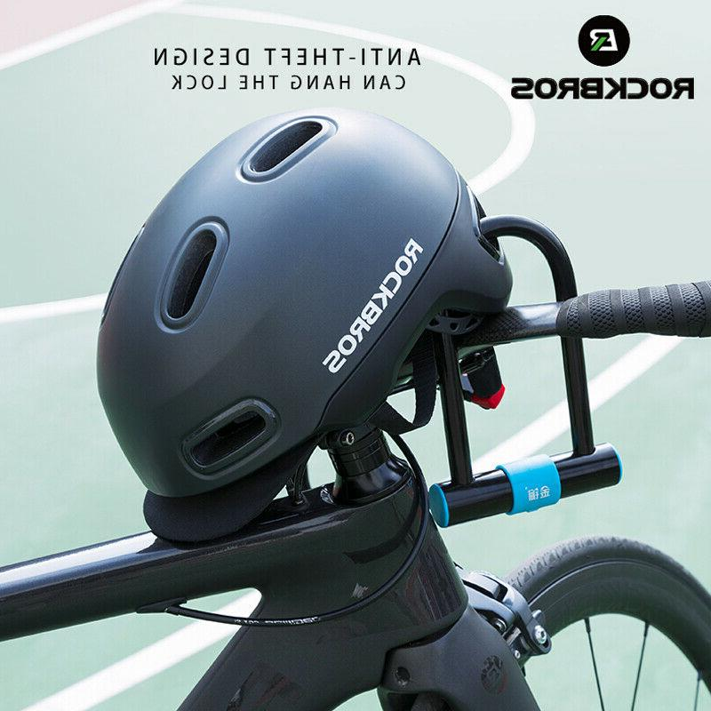 ROCKBROS Bike Helmets Breathable Shockproof Helmet Adjustabl