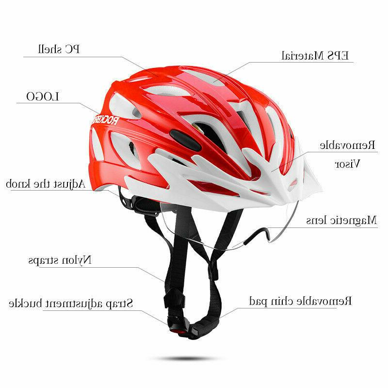 ROCKBROS Bicycle Cycling Helmets&Polarized 4color