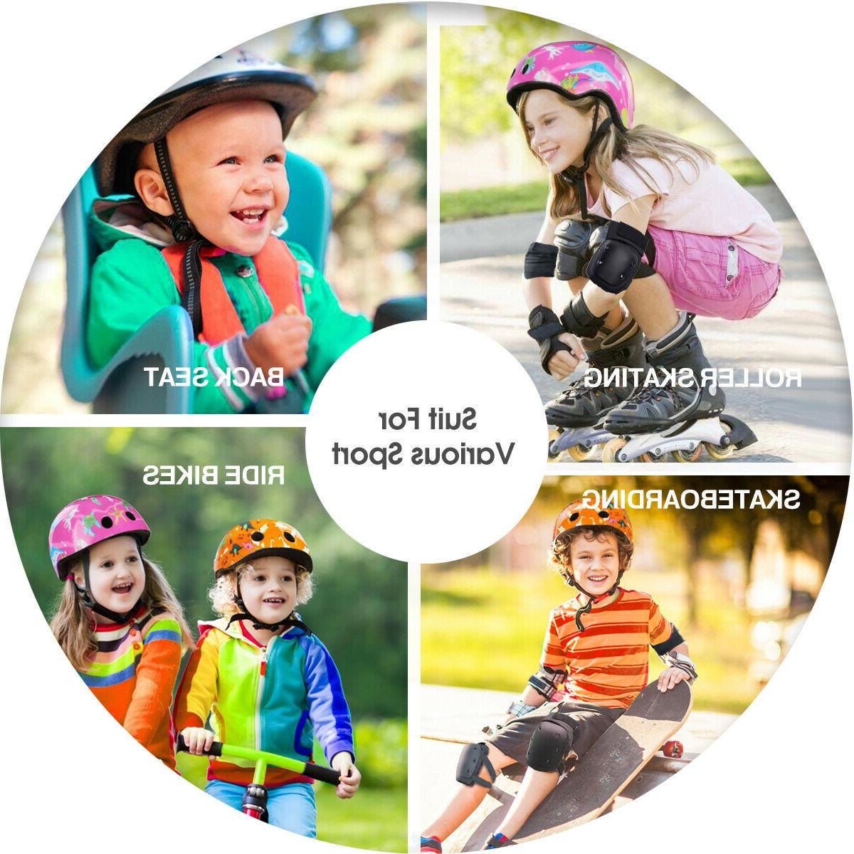 Child Breathable Adjustable For Boys Girls Cycling
