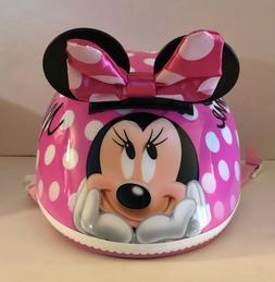 Disney Minnie Mouse With Ears Bike Helmet Bicycle Protection