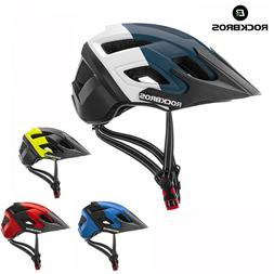 ROCKBROS MTB Road Bike Cycling PC+EPS Large Visor Ventilatio