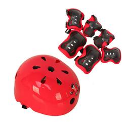 Protective Gear Set Adjustable for 3 to 5 years old 7 in 1 B