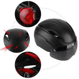Safety Helmet Adult Bicycle Helmet Bike Cycling with Light a