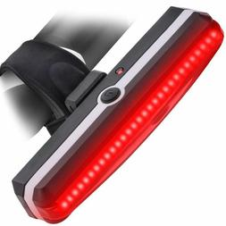 usb rechargeable bicycle tail light rear led
